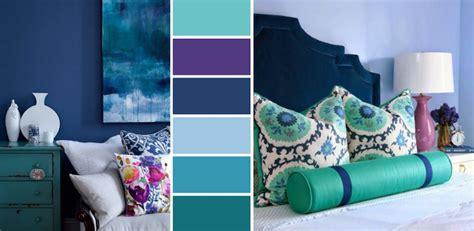 chambre fille bleu et violet chambre bleu canard avec quelle couleur accords classe