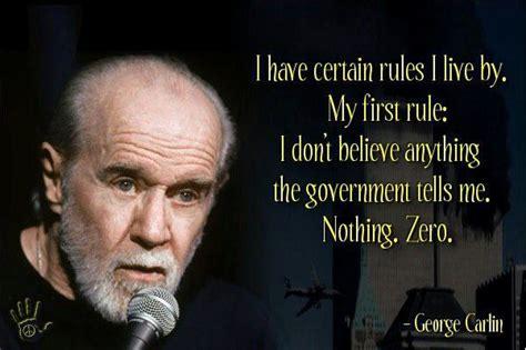 George Carlin Meme - muskegonpundit interesting word quot scrimp quot government