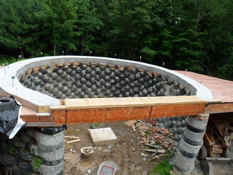Large House Blueprints by Solar Earthship Tire House Passive Solar Case Study