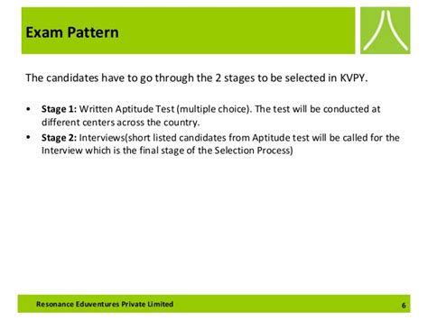 test pattern of kvpy kvpy