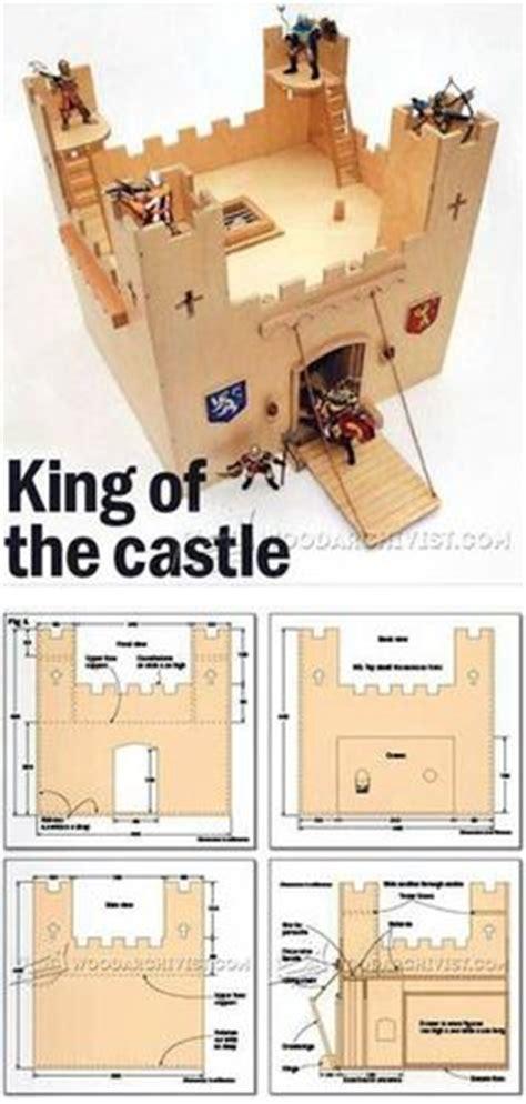 wooden castle plans childrens wooden toy plans