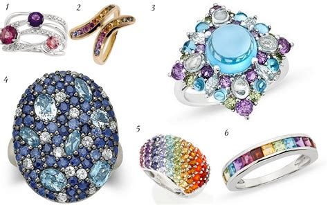 gems for jewelry colored gemstone engagement rings jewelry