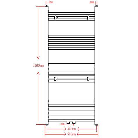 radiatori scaldasalviette bagno radiatore scaldasalviette bagno dritto grigio 500 x 1160