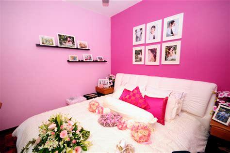 Hiasan Dinding Susun wawa syaida hiasan bilik tidur sempit idea dan susun atur