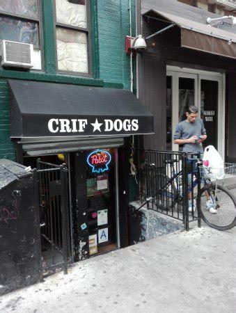 crif dogs menu crif dogs new york city east menu prices restaurant reviews tripadvisor