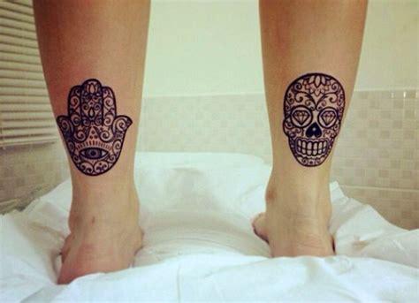 hamsa tattoo placement hamsa sugarskull tattoo ink pinterest favorite