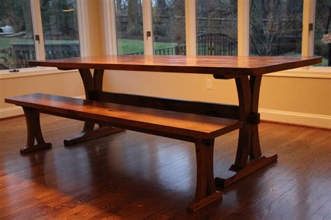 trestle table and bench reclaimed oak trestle table and bench reclaimed wood