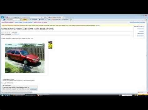 Craigslist Port Fl Cars by Craigslist Miami Fl Used Autos Finding A Cheap Car