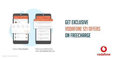 vodafone offers for mobile india s 1st free prepaid mobile recharge and top up