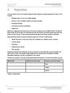protocol deviation form template verification and validation plan template