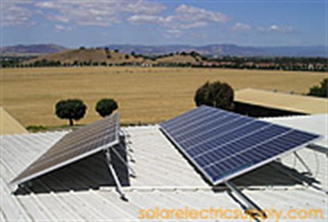 tile trac solar panels commercial solar system installation projects