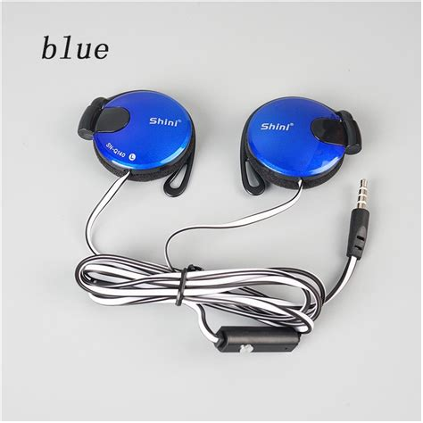 Headset Xiaomi Stereo Kabel Gepeng Quality 8 3 5mm stereo shiniq140 headphone ear hook earphone for mobile phone iphone xiaomi headset