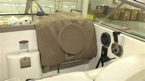 how to make a boat helm cover youtube - Boat Helm Covers