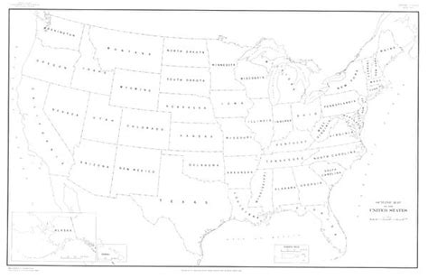 usa map outline with state names outline map of the united states of america clipart best