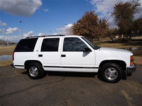 auto air conditioning service 1999 chevrolet tahoe transmission control find used 1999 chevy tahoe super clean white arizona rust free new transmission in