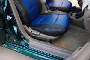 Custom Car Seat Covers Honda Civic Honda Civic 1997 2002 Iggee S Leather Custom Fit Seat