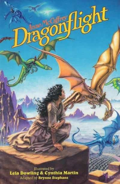 Pern XIX: Dragonflight by Anne McCaffrey (1968) | Ninth