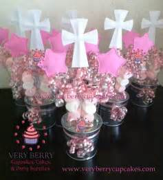baptism centerpieces party favors ideas