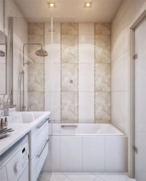 In Bathroom by 7 Tile Design Tips For A Small Bathroom Apartment Geeks