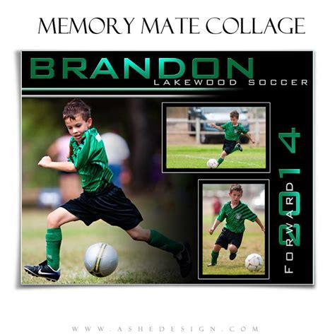 photo book template soccer team memory book quick album sports memory mates 8x10 streak of light ashedesign