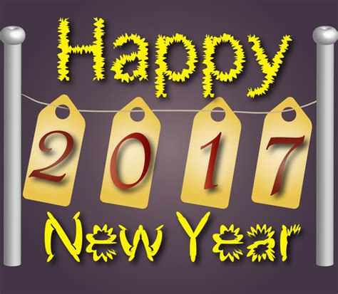 logo for new year 2017 free vector in encapsulated