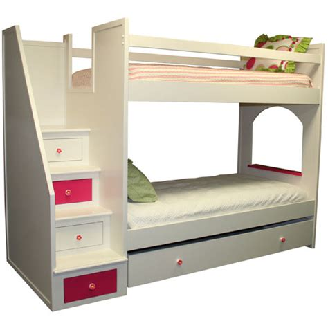 Roxanne Bunk Bed And Luxury Kid Furnishings Including Posh Bunk Beds