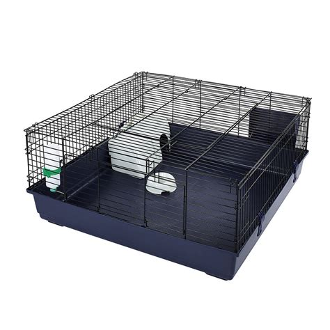 indoor cage indoor square rabbit guinea pig cage by friends 50919 ebay