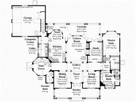 southern plantation floor plans southern plantation homes floor plans