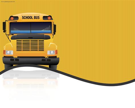powerpoint templates free download transportation school bus wallpapers wallpaper cave
