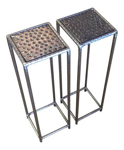 small drink table small drink tables a pair chairish