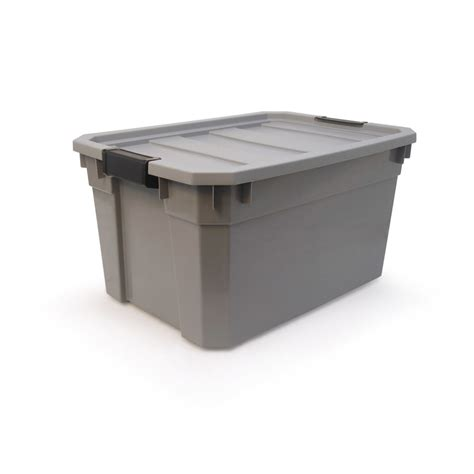 home design products 12 gallon flip top tote home design products 12 gallon flip top tote shop plastic