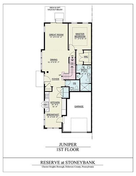 juniper floor plan juniper model the reserve at stoneybank