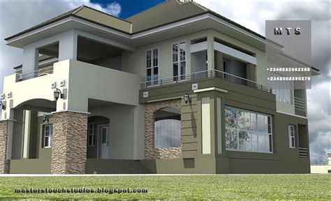 4 Bedroom Duplex Designs Architectural Designs For Nairalanders Who Want To Build Properties 14 Nigeria