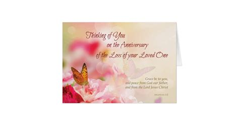 printable death anniversary cards anniversary of loss of loved one s death flowers greeting