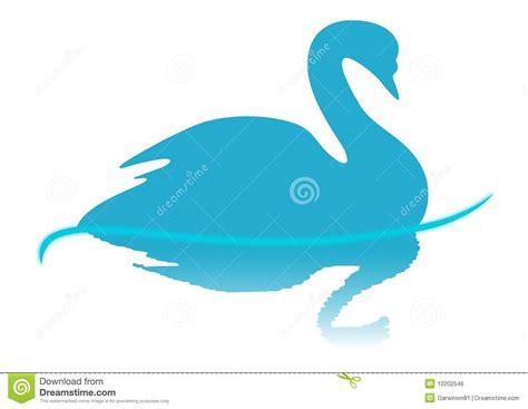 Bloues Swan Blue Swan Illustration Royalty Free Stock Image Image