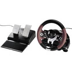 Steering Wheel And Pedals Pc Steering Wheel And Pedals Hama Racing Wheel Thunder V5 Usb