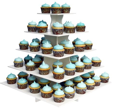 Cupcake Tier 5 tier square cupcake tower stand reusable and adjustable