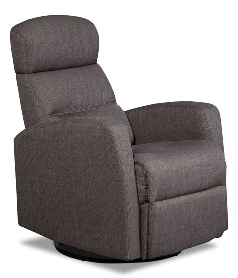 Penny Linen Look Fabric Swivel Rocker Reclining Chair Swivel Rocker Recliners Living Room Furniture