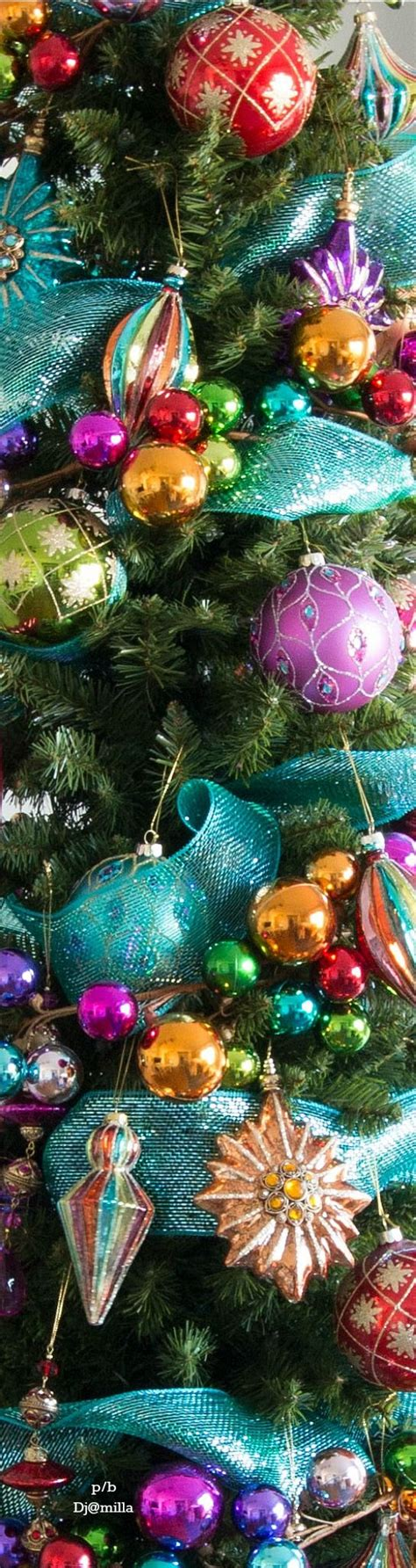 1000 ideas about bright christmas decorations on