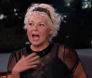 Not a fan roseanne barr 62 tells jimmy kimmel she won t be voting