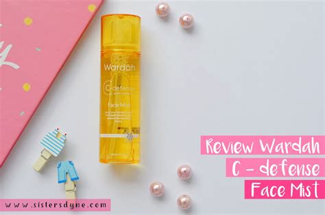 Harga Wardah Vit C Spray da review wardah c defense series