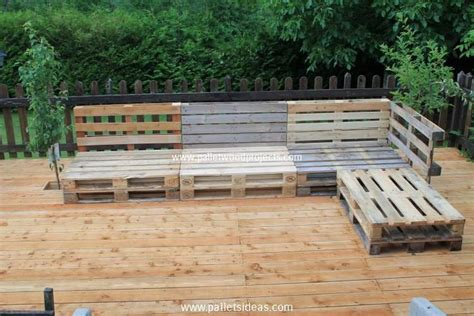 Diy Pallet Garden Furniture Plans Pallet Wood Projects How To Build Pallet Patio Furniture