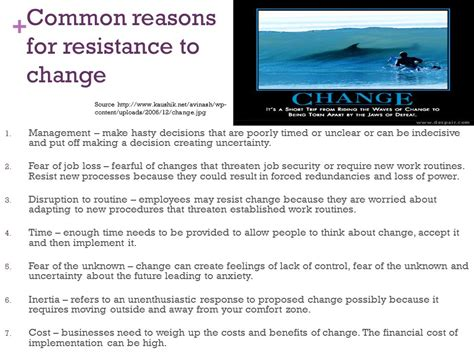 7 Reasons To Make A Career Change by Part 4 Management And Change Ppt