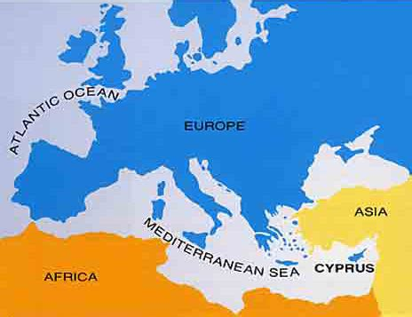 where is cyprus on the world map cyprus map clickable map of cyprus paphos nicosia