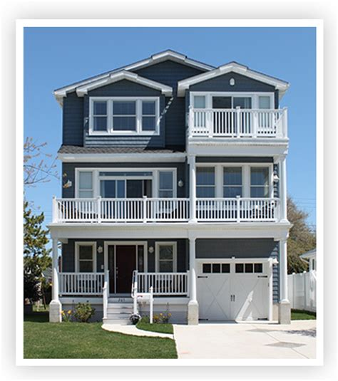 3 Story Houses W T Hannan Builders Brigantine New Homes
