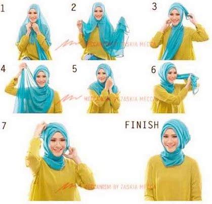 tutorial hijab wisuda gambar cara memakai hijab untuk wisuda terbaru