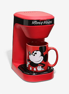 disney mickey mouse single serve coffee maker boxlunch