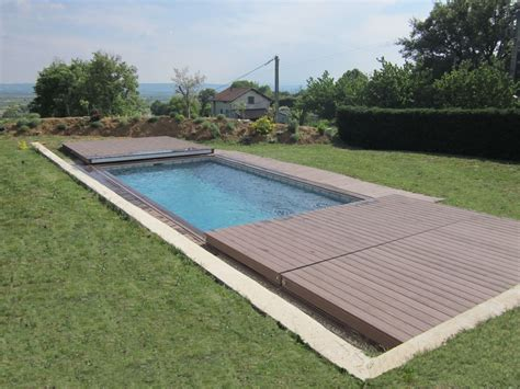 stilys terrasse mobile plancher coulissant pour piscine - Mobile überdachung Terrasse