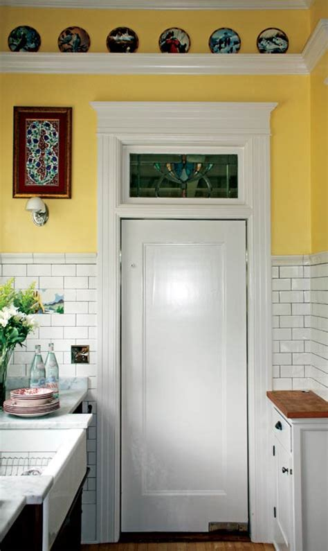 kitchen swinging door french bakery inspired kitchen old house online old