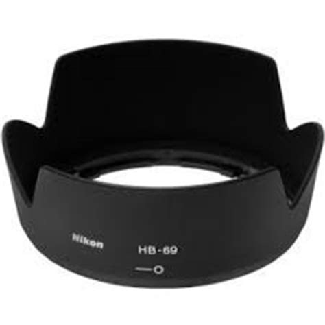 Hb 69 Lens Uv Filter 52mm For Nikon Kit 18 55mm Hb 69 Lenshood nikon hb 7 ii for 80 200 2 8d